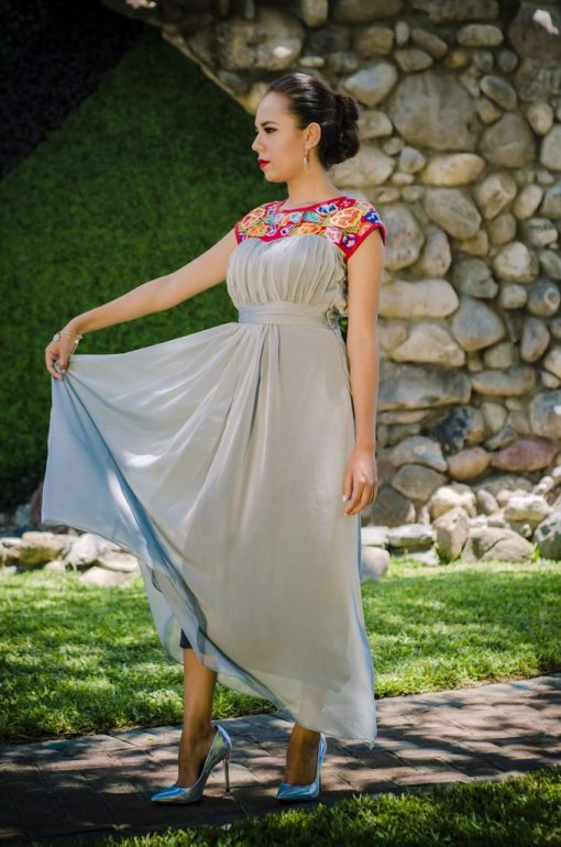 Vestido de Fiesta Carolina (3)