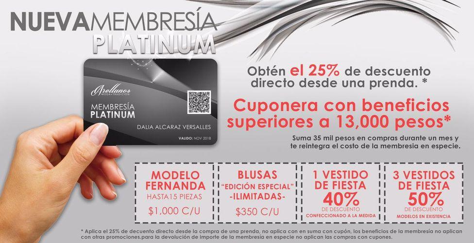 Nueva Membresia Platinum